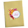 Metallic Paper Cover Notebook - 6