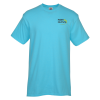 Adult 4.3 oz. Ringspun Cotton Athletic Fit T-Shirt - Embroidered
