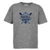 View Image 1 of 3 of Snow Heather T-Shirt - Kids' - Screen