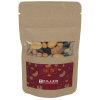View Image 1 of 2 of Resealable Kraft Snack Pouch - Trail Mix