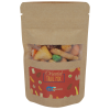 Resealable Kraft Snack Pouch - Oriental Nut Mix