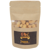 Resealable Kraft Snack Pouch - Raw Cashews