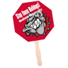 Hand Fan - Stop Sign - Full Color - 24 hr