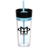 View Image 1 of 5 of Aurora Tumbler with Straw - 16 oz.