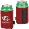 View Image 1 of 3 of Collapsible Neoprene Koozie® Can Kooler - Magnetic