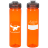 View Image 1 of 4 of PolySure Revive Water Bottle with Flip Lid - 24 oz. - ID