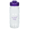 View Image 1 of 4 of Refresh Spot On Water Bottle with Flip Lid - 20 oz. - Clear