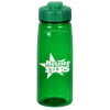 PolySure Grip 'N Sip Water Bottle with Flip Lid - 24 oz.