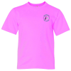 Anvil Ringspun 4.5 oz. T-Shirt - Youth - Colors - Embroidered