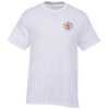 Principle Performance Blend T-Shirt - White - Embroidered