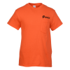 Gildan 5.3 oz. Cotton T-Shirt with Pocket - Men's - Colors