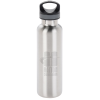 View Image 1 of 3 of Basecamp Tundra Vacuum Bottle - 20 oz. - Laser Engraved