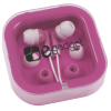 View Image 1 of 2 of Ear Buds with Interchangeable Covers - Colors - 24 hr