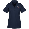 Dry-Mesh Hi-Performance Johnny Collar Polo - Ladies' - 24 hr