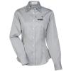 View Image 1 of 3 of Van Heusen Wrinkle-Free Pinpoint Dress Shirt - Ladies'