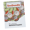 Stress Relieving Adult Coloring Book - Zen Doodle