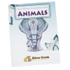 Stress Relieving Adult Coloring Book - Animals - Full Color