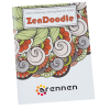 Stress Relieving Adult Coloring Book - Zen Doodle - Full Color