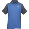 Vital Colorblock Performance Raglan Polo - Men's
