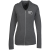 Anvil Tri-Blend Full-Zip Hooded T-Shirt - Ladies'
