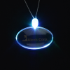 Light-Up Pendant Necklace - Oval