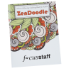 Stress Relieving Adult Coloring Book - Zen Doodle - 24 hr
