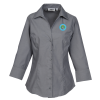Signature Non-Iron 3/4 Sleeve Dress Shirt - Ladies' - 24 hr