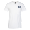 Anvil Ringspun 4.5 oz. Pocket T-Shirt - Men's - White