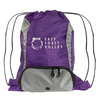 Purple Drawstring Sport Pack