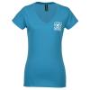 Anvil Lightweight Fitted V-Neck T-Shirt - Ladies'