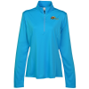 View Image 1 of 3 of Defender Performance 1/4-Zip Pullover - Ladies' - Embroidered