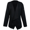 View Image 1 of 3 of Perfect Fit Draped Open Blazer - Ladies'