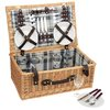 Picnic Time Newberry Wine Basket - 24 hr