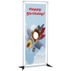 FrameWorx Banner Stand - Single Face Cut Out - Lower