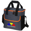 View Image 1 of 4 of Gray Line Cooler Bag