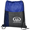 Etched Pocket Drawstring Sportpack