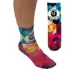 Full Color Unisex Crew Socks - 13