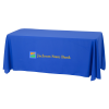 Open-Back Stain Resistant Table Throw - 6' - 24HR