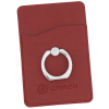 View Image 1 of 6 of Tuscany Smartphone Wallet with Ring Phone Stand