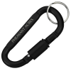 View Image 1 of 3 of Carabiner Lock Keychain