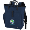 View Image 1 of 5 of Kapston Pierce Laptop Backpack Tote - Embroidered