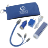 View Image 1 of 11 of Energize Portable Power Bank Charging Kit