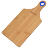 View Image 1 of 2 of Bamboo Cutting Board with Silicone Ring