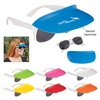 Two-Tone Visor Sunglasses