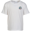 Gildan Softstyle T-Shirt - Youth - White - Embroidered