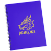 View Image 1 of 2 of Large Narrow Ruled Spiral Notebook