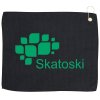 """View Image 1 of 2 of Waffle Knit Golf Towel - 15"""" x 18"""""""