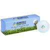 View Image 1 of 4 of Full Color 3 Golf Ball Sleeve