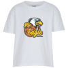 Jerzees Blend 50/50 T-Shirt - Youth - White - Full Color