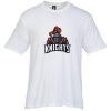 View Image 1 of 2 of Optimal Tri-Blend T-Shirt - Men's - White - Full Color